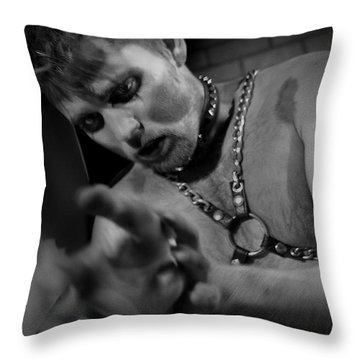 Obsolete Throw Pillow