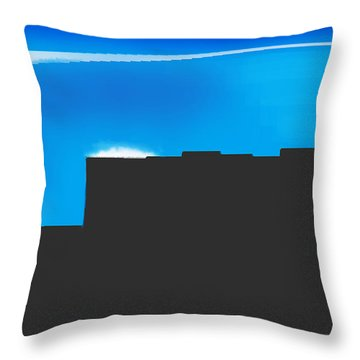 Obstructed View Throw Pillow
