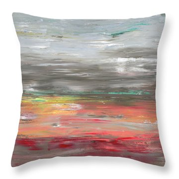 Occationally Unafraid Throw Pillow