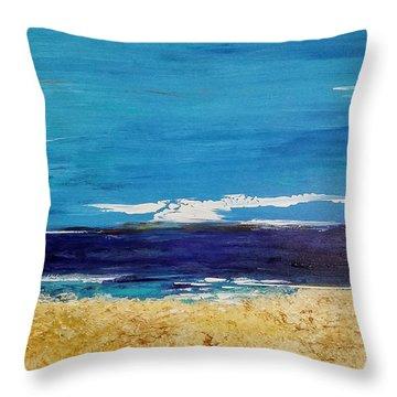 Ocean 1 Throw Pillow