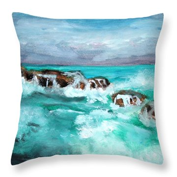 Ocean 14 Throw Pillow