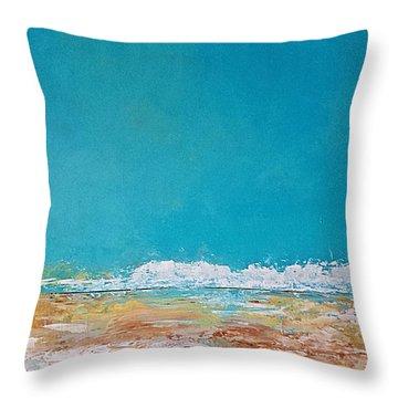 Ocean 3 Throw Pillow