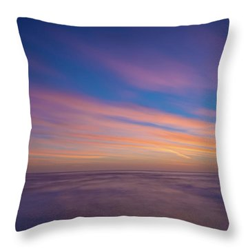 Ocean And Beyond Throw Pillow