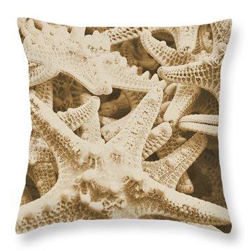 Ocean Angels Throw Pillow