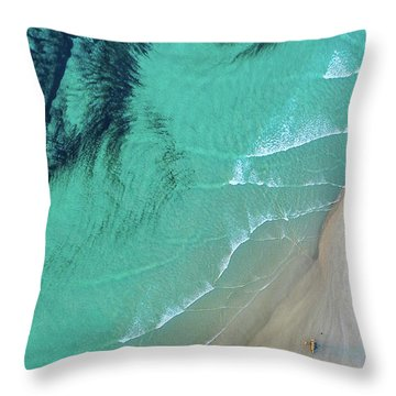 Ocean Art Throw Pillow