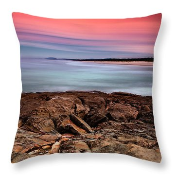 Ocean Beauty 6666 Throw Pillow by Kevin Chippindall