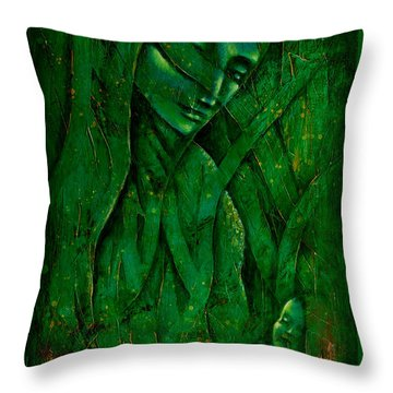 Ocean Birth Throw Pillow