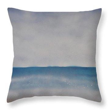 Ocean Breathe Throw Pillow