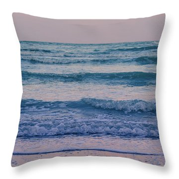 Ocean Calls Throw Pillow by Andrea Mazzocchetti
