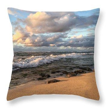 Ocean Calm Throw Pillow