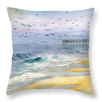 Ocean City Maryland Throw Pillow