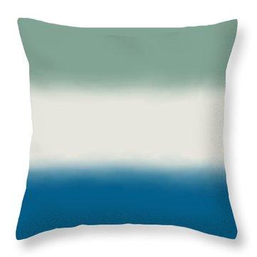Ocean Colors - Sq Block Throw Pillow