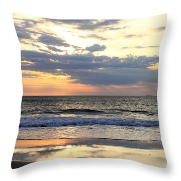 Ocean Dawn Throw Pillow