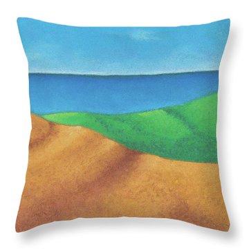 Ocean Daybreak Throw Pillow