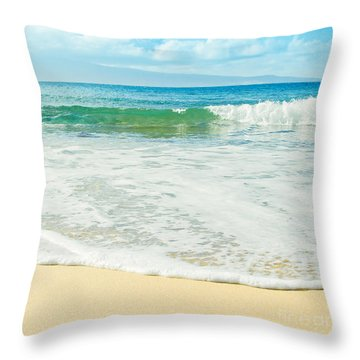Ocean Dreams Throw Pillow by Sharon Mau