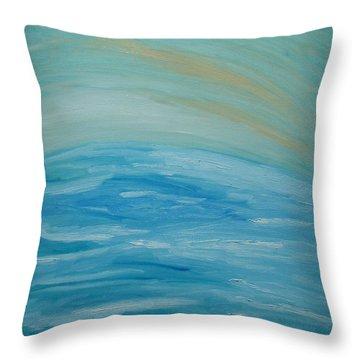 Ocean. Fantasy 29. Throw Pillow