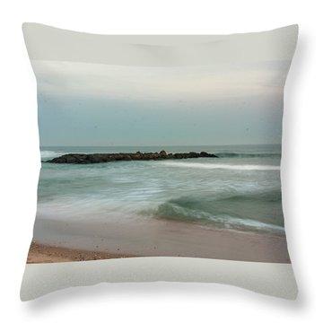 Ocean Flow 2 Throw Pillow