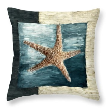 Ocean Gem Throw Pillow by Lourry Legarde