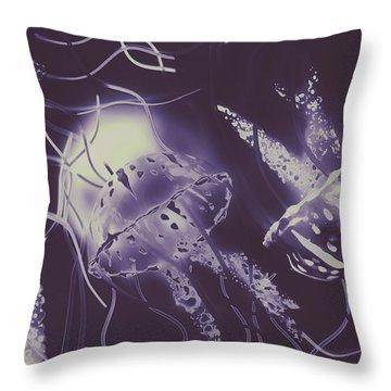 Ocean Liners Throw Pillow