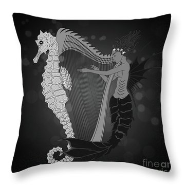 Ocean Lullaby2 Throw Pillow