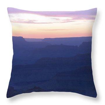 Ocean Of Silent Echoes Throw Pillow