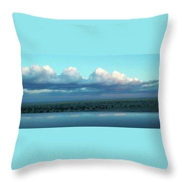 Ocean Of Sky Throw Pillow