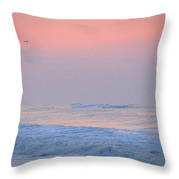 Ocean Peace Throw Pillow