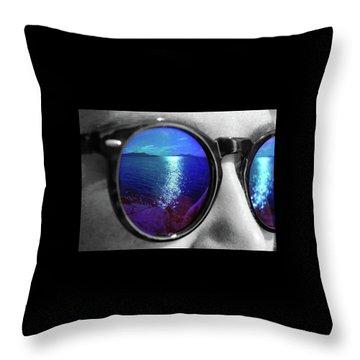 Ocean Reflection Throw Pillow