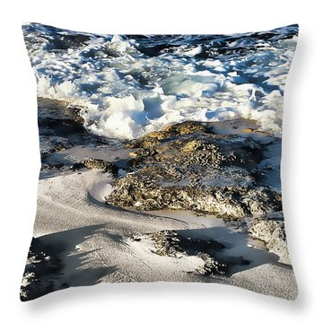 Ocean Scene 9 Throw Pillow