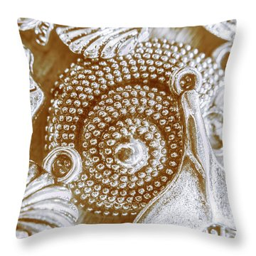 Ocean Sea Abstract Throw Pillow