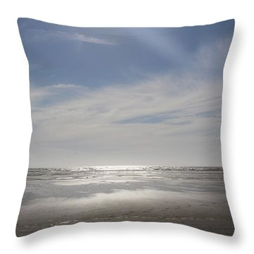 Ocean Shores Throw Pillow