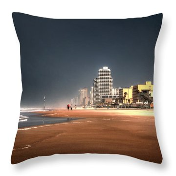 Throw Pillow featuring the photograph Flow With It by Jim Hill