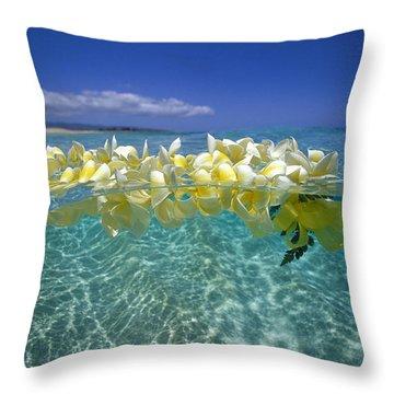 Ocean Surface Throw Pillow