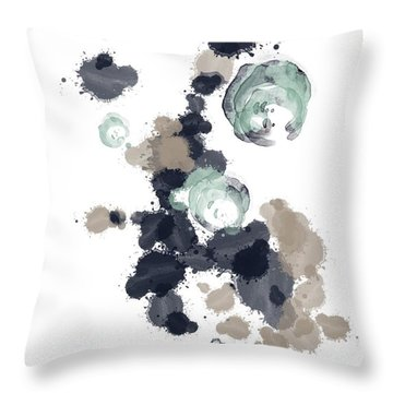 Ocean Vibes I Throw Pillow