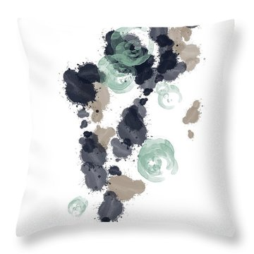Ocean Vibes II Throw Pillow