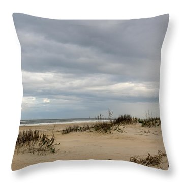 Throw Pillow featuring the photograph Ocean View by Gregg Southard