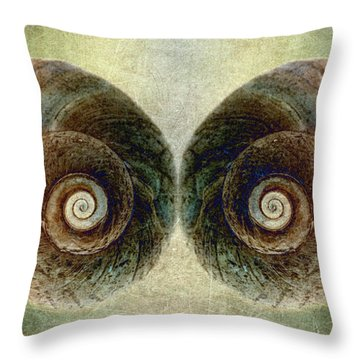 Ocean View Throw Pillow by WB Johnston
