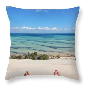 Ocean Views Throw Pillow