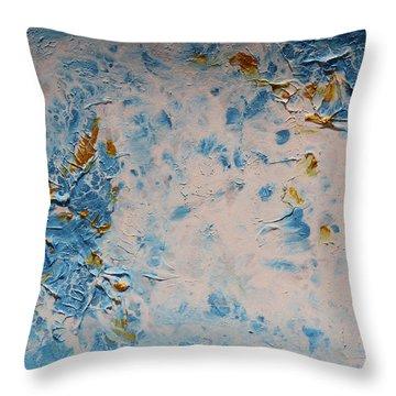 Ocean Whisper Throw Pillow