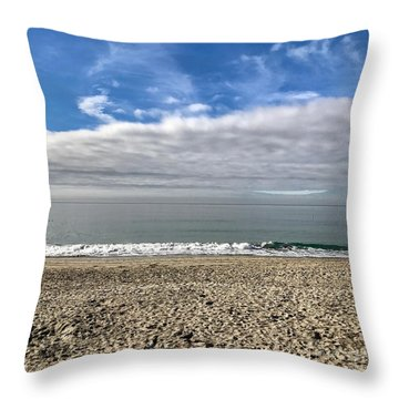 Ocean's Edge Throw Pillow
