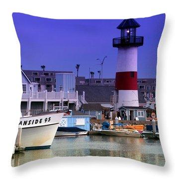 Oceanside Light Throw Pillow