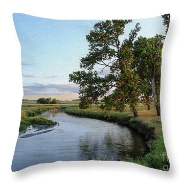 Ocheyedan Evening Throw Pillow
