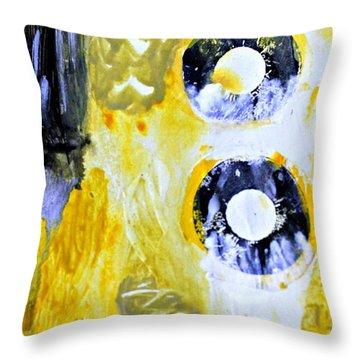 Ochre 23 Throw Pillow by Shelley Graham Turner