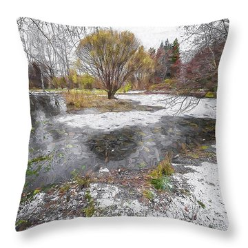 October 2 Throw Pillow