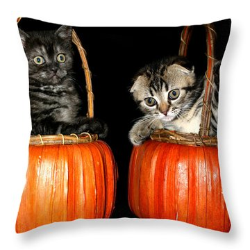 October 2004 Throw Pillow