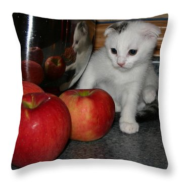 October 2006 Throw Pillow