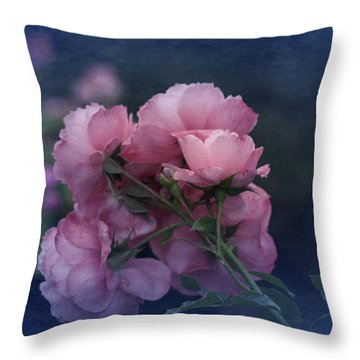 Throw Pillow featuring the photograph October 2016 Roses No. 2 by Richard Cummings