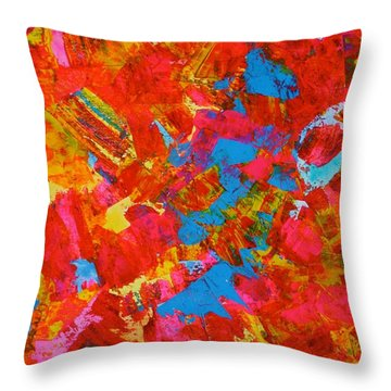 October Canopy Overhead Throw Pillow