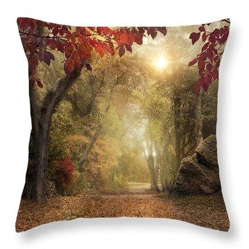 October Dreamer Throw Pillow