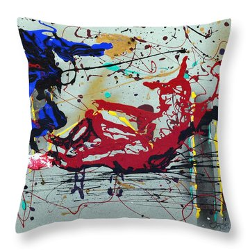 October Fever Throw Pillow by J R Seymour